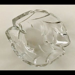 New Marquis Waterford Crystal Palma Dish 7 1/2 x 6
